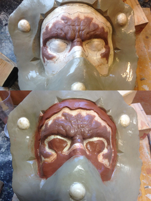 Creating the mould